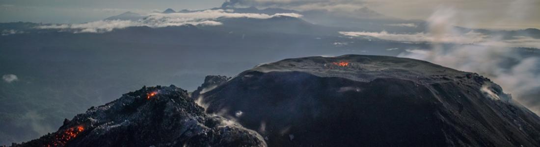 24 Mars 2020. FR. Perou : Sabancaya , Indonésie : Ibu , Colombie : Nevado del Ruiz , Guatemala : Fuego , Mexique : Popocatepetl .