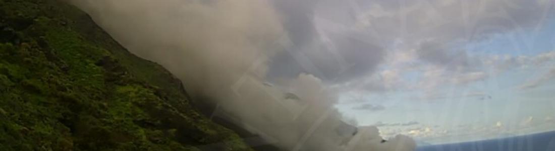 31 Mars 2020. FR.  Pérou : Sabancaya , Islande : Thorbjorn , Italie : Stromboli , Pérou : Ubinas , Alaska : Cleveland .