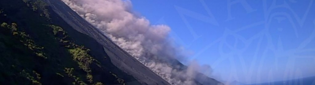 16 Avril 2020 . FR. Colombie : Nevado del Ruiz , Italie : Stromboli , Indonésie : Semeru , Nouvelle Zélande : White Island .