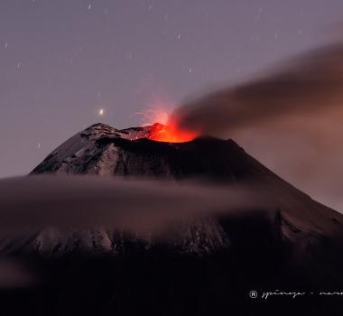 September 13, 2020. EN . Ecuador : Reventador , Alaska : Semisopochnoi , Colombia : Galeras , Mexico : Popocatepetl .