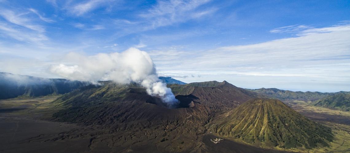 March 01 , 2019.  EN.  La Réunion : Piton de la Fournaise , Indonesia : Bromo , Colombia : Nevado del Ruiz , Japan : Aira Caldera ( Sakurajima ) .