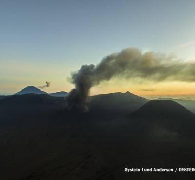 July 25, 2019. EN. Indonesia : Bromo , Alaska : Shishaldin , Italy : Stromboli , Peru : Ubinas , Mexico : Popocatepetl .