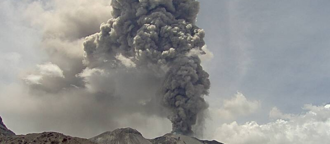 June 28 , 2017. EN.  Bogoslof , Cerro Machin , Sabancaya , Sinabung .