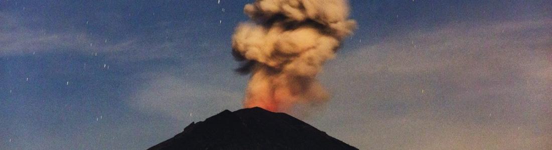 08 Décembre 2017. FR. Agung , Öræfajökull , Kilauea , Ebeko , Fuego .