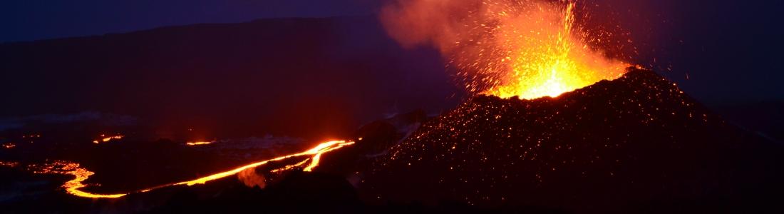 February 10 , 2017. EN. Piton de la Fournaise , Bogoslof , Kilauea , Sabancaya .