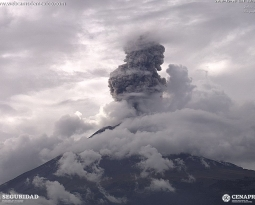 December 07 ,  2018. EN.  Chile : Copahue , Japan : Akan , Mexico : Popocatepetl , Indonesia : Gamalama .