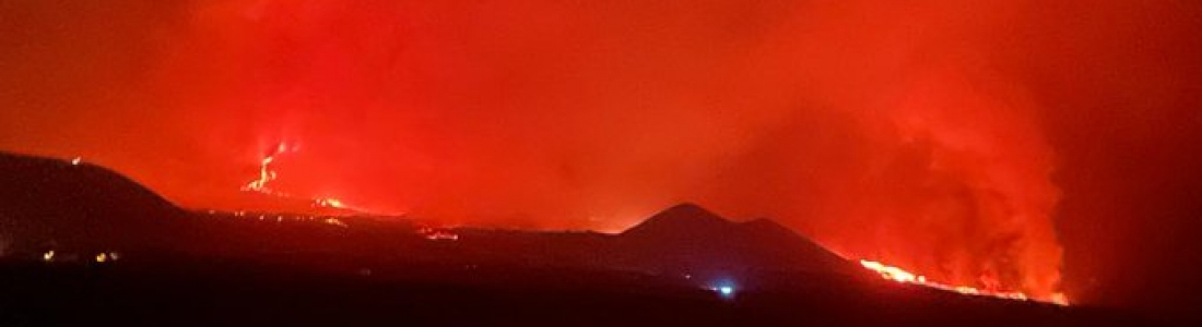29 Septembre 2021. FR. Espagne / La Palma : Cumbre Vieja , Italie / Sicile : Etna , Italie : Stromboli , Kamchatka : Klyuchevskoy , Guatemela : Fuego .