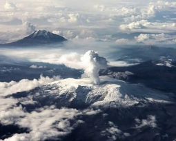 August 23, 2019. EN. Colombia : Nevado del Ruiz , El Salvador : San Miguel (Chaparrastique) , Philippines : Taal , Indonesia : Agung , Hawaii : Mauna Loa .