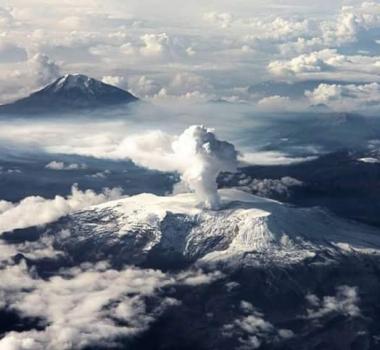 August 23, 2019. EN. Colombia : Nevado del Ruiz , El Salvador : San Miguel (Chaparrastique) , Philippines : Taal , Indonesia : Agung , Hawaii : Mauna Loa .