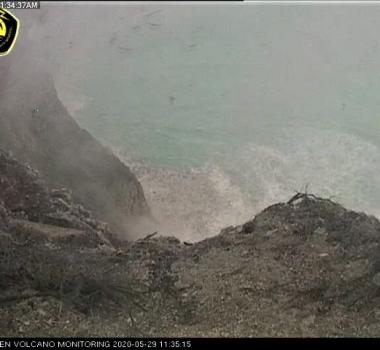 May 30, 2020. EN . Indonesia : Kawah Ijen , Alaska : Shishaldin , Japan : Sakurajima (Aira) , Philippines : Taal .