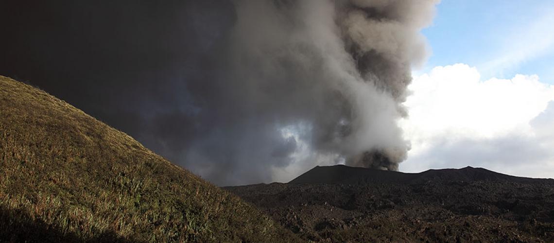 September 06 , 2017. EN. Nevado del Ruiz , Sinabung , Dukono , Klyuchevskoy .