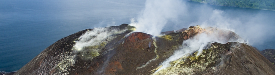 June 26 , 2018.  EN.  Indonesia : Anak Krakatau ,  Hawai , Kilauea , Chile : Osorno , Ecuador / Galapagos : Sierra Negra , Peru : Sabancaya .