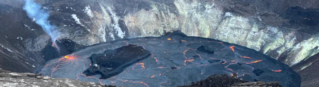 January 03, 2021. EN . Hawaii : Kilauea , Indonesia : Merapi , Ecuador : Sangay , Mexico : Popocatepetl .