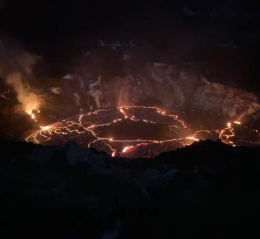 December 31, 2020. EN . Italy : Stromboli , Hawaii : Kilauea , Saint Vincent and the Grenadines : Soufrière Saint Vincent , Japan : Shinmoedake .