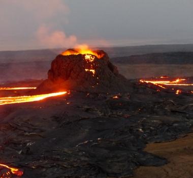 August 21, 2019. EN. Italy / Sicily: Etna , Ethiopia : Erta Ale , Kamchatka : Karymsky , Colombia : Chiles / Cerro Negro , Guatemala : Fuego .