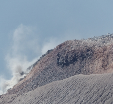 April 15, 2019 . EN . Kamchatka : Sheveluch , Indonesia : Kerinci , Indonesia : Anak Krakatau , Guatemala : Santiaguito .
