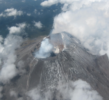 April 12, 2019. EN. Indonesia : Agung , Kurile Islands : Ebeko , Colombia : Cumbal , Mexico : Popocatepetl , Guatemala : Fuego .