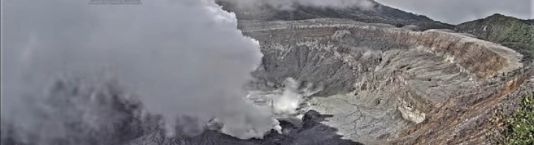 May 02 , 2019 . EN . Costa Rica : Turrialba / Poas / Rincon de la Vieja , Indonesia : Ibu , Colombia : Nevado del Ruiz , United States : Yellowstone .