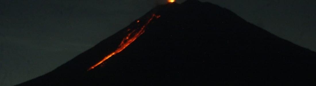 May 05 , 2020. EN . Alaska : Shishaldin , Iceland : Mount Thorbjorn , Peru : Sabancaya , Indonesia : Semeru .