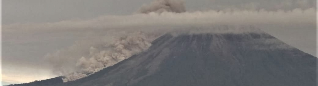 17 Avril 2020 . FR . Alaska : Shishaldin , Indonésie : Anak Krakatau , Indonésie : Semeru , Mexique : Popocatepetl .