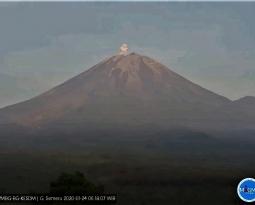 January 25, 2020. EN . Philippines : Taal , Indonesia : Semeru , Italy : Campi Flegrei , Alaska : Shishaldin .