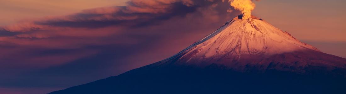 17 Janvier 2019. FR . Colombie : Nevado del Ruiz , Kilauea : Hawaii , Indonésie : Agung , Japon : Kuchinoerabujima , La Guadeloupe : la Soufrière , Mexique : Popocatepetl .