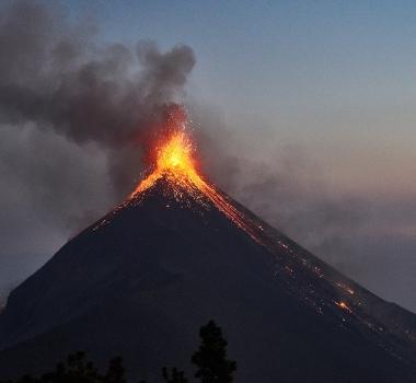 December 12 , 2017.  EN. Agung , Sabancaya , Kanlaon , Fuego , Skjaldbreiður .