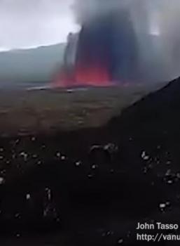 December 18 , 2018.  EN. Vanuatu : Ambrym , Peru : Sabancaya , Ecuador : Sangay , Iceland : Bárðarbunga .