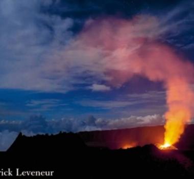 February 23 , 2017. EN.  Anak Krakatau , San Cristobal , Piton de la Fournaise , Cleveland , Sheveluch .