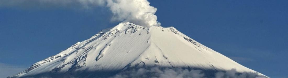 April 08 , 2017. EN.  Nevado Del Ruiz , Kambalny , Popocatepetl , Poas , Banda Api.