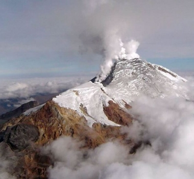 January 27 , 2019. EN.  Colombia : Nevado del Huila , La Guadeloupe : La Soufrière , Indonesia : Merapi , Mexico : Popocatepetl .