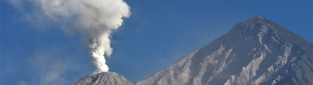 21 Juin 2019. FR. Guatemala : Santiaguito , Japon : Aira ( Sakurajima)  , Colombie : Nevado del Ruiz , Indonésie : Sangeang Api  .