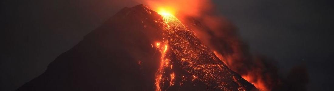 30 Janvier 2018. FR. Mayon , Sabancaya , Kusatsu – Shiranesan , Kadovar .