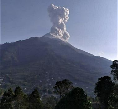 October 15, 2019. EN . Indonesia : Merapi , Peru : Ubinas , Ecuador : Reventador , Indonesia : Ibu .