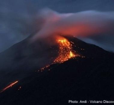 February 07 , 2019. EN.  Chile : Puyehue – Cordon Caulle , Japan : Sakurajima ( Caldera of Aira ) , Indonesia : Karangetang , Ecuador : Reventador .
