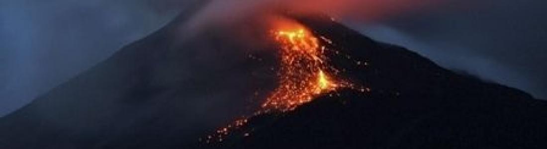 07 Fevrier 2019. FR. Chili : Puyehue – Cordon Caulle , Japon : Sakurajima ( Caldeira d'Aira )  , Indonésie : Karangetang , Equateur : Reventador .