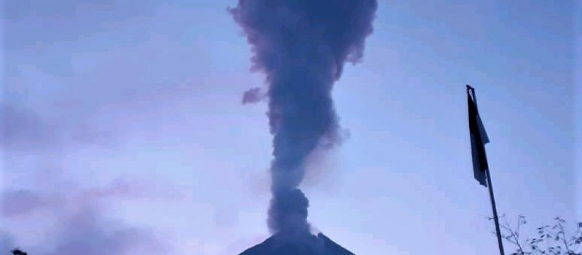 March 28, 2020. EN. Indonesia : Merapi , Alaska : Shishaldin , Colombia : Nevado del Huila , Ecuador : Sangay , Guatemala : Fuego .