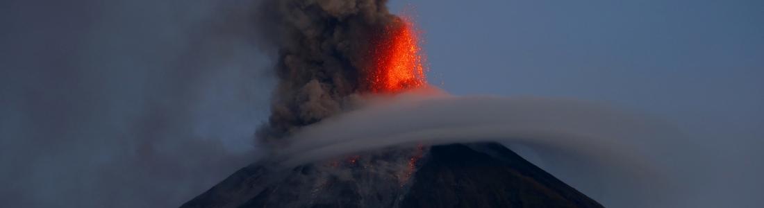 27 Février 2018. FR. Mayon , Sabancaya , Dukono , Fuego , Turrialba , Rincon de la Vieja .