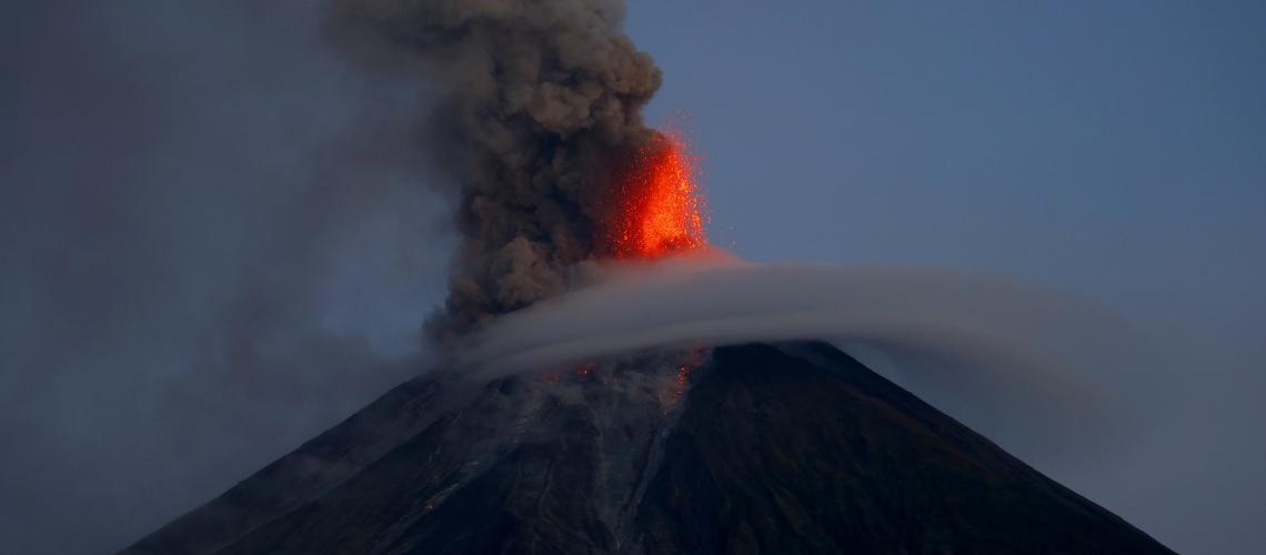 February 27 , 2018. EN.  Mayon , Sabancaya , Dukono , Fuego , Turrialba , Rincon de la Vieja .