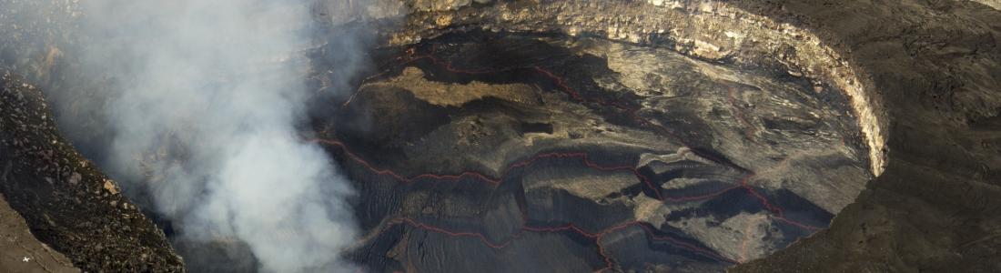 13/02/2016. Fr. Kilauea , Momotombo, Masaya , Nevados De Chillan .