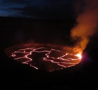 July 20 , 2016. EN.  Gamalama , Kilauea , Pavlof .