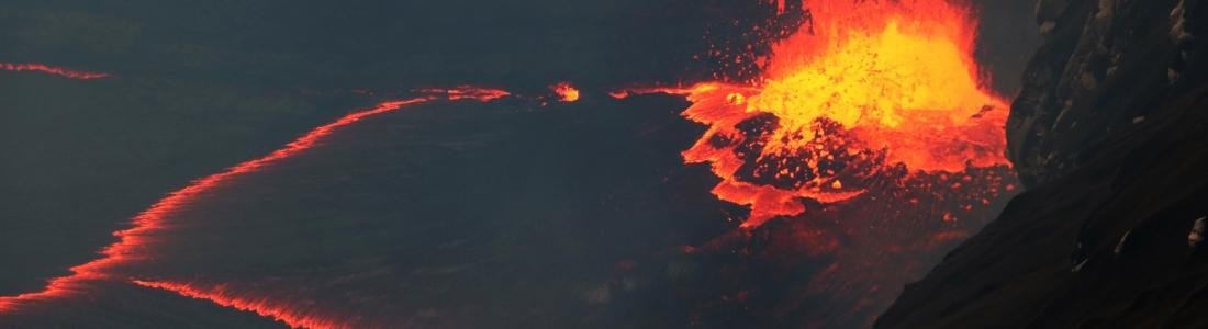 08/10/2016. FR. Kilauea , Fuego , Santiaguito , Nevado Del Ruiz , Mauna Loa , Aso .