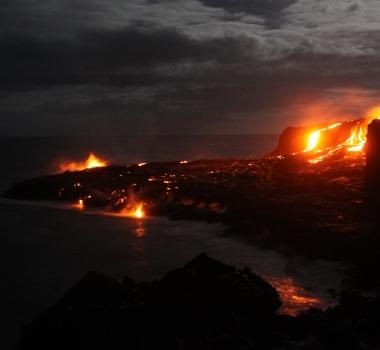 November 02 , 2017. EN. Kilauea , Stromboli , Cumbal , Reventador .