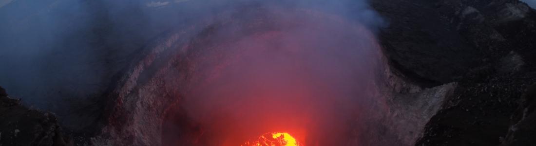 May 08 ,  2018. EN.  Pu'u 'Ō'ō / Kilauea , Piton de la Fournaise , Sabancaya , Ambae , Klyuchevskoy .