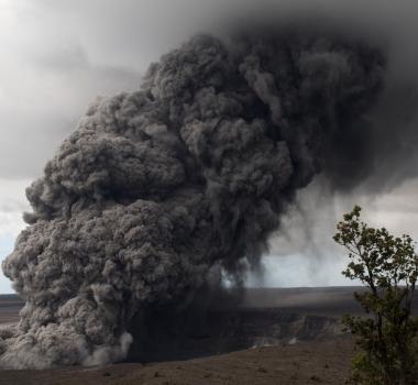 May 17 , 2018.  EN.  Pu'u 'Ō'ō / Kilauea , Sinabung , Ticsani , Piton de la Fournaise , Cleveland .