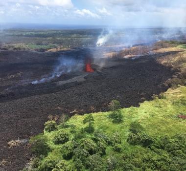 20 Mai 2018. FR. Pu'u 'Ō'ō / Kilauea , Agung , Popocatepetl , Piton de la Fournaise .