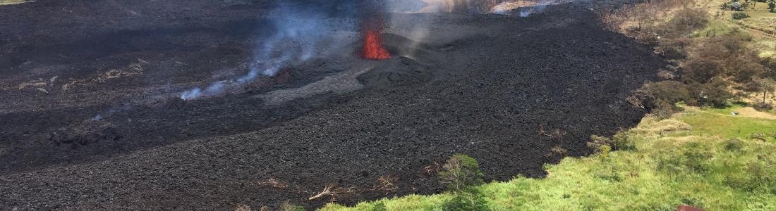 May 20 , 2018. EN .  Pu'u 'Ō'ō / Kilauea , Agung , Popocatepetl , Piton de la Fournaise .