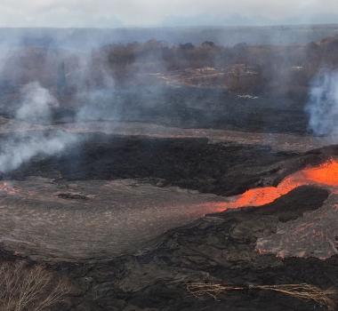 May 27 , 2018 .  EN.  Pu'u 'Ō'ō / Kilauea , Popocatepetl , San Miguel (Chaparrastique) , Piton de la Fournaise .