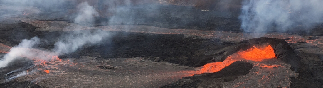 27 Mai 2018. FR. Pu'u 'Ō'ō / Kilauea , Popocatepetl , San Miguel ( Chaparrastique) , Piton de la Fournaise .