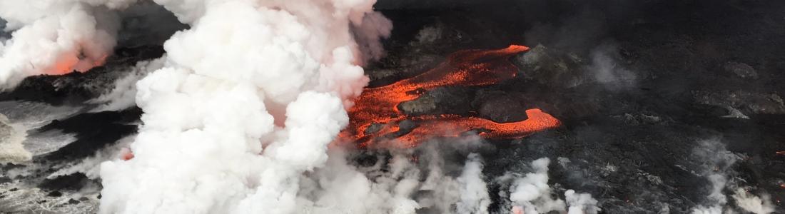 15 Juin 2018. FR. Hawai : Pu'u 'Ō'ō / Kilauea , Colombie : Galeras , Kamchatka : Karymsky , Indonesie : Sinabung .